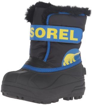 Sorel Snow Commander Youth Kids black/super blue