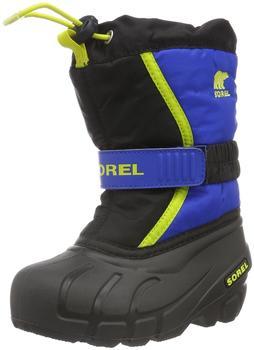 sorel-children-s-flurry-black-super-blue