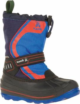 Kamik Snowcoast4 black/blue/red