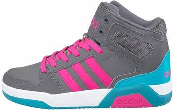 Adidas NEO BB9tis Mid K grey/shocking pink/grey