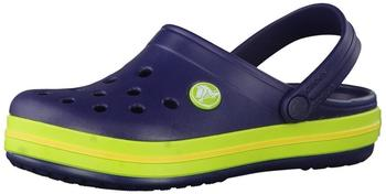 Crocs Kids Crocband navy/volt green