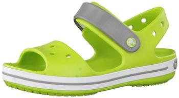 Crocs Crocband Sandal Kids volt green/smoke