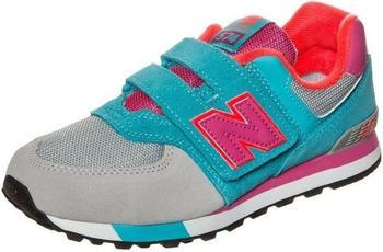 New Balance KV547 blue/pink/grey