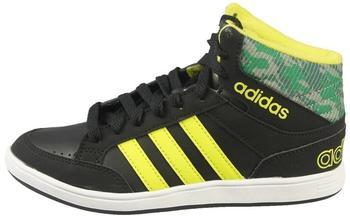 Adidas Hoops Mid K core black/sesoye/green