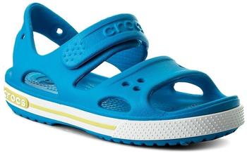 Crocs Kids Crocband II Sandal ocean/tennis ball green