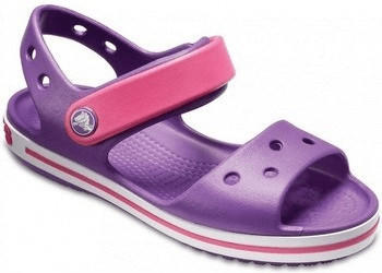 Crocs Crocband Sandal Kids amethyst/paradise pink