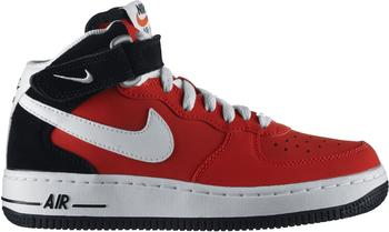 Nike Air Force 1 Mid 06 GS (314195) light crimson/black/white