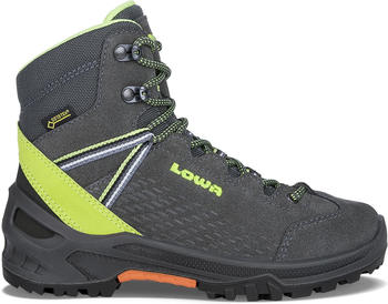 Lowa Arco GTX Mid Junior anthracite/lime