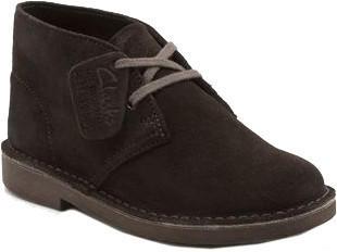 Clarks Desert Boot Kids brown suede