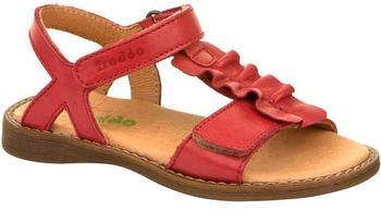 Froddo Sandale mit Klett rot