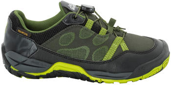 Jack Wolfskin Jungle GYM Texapore Low Kids green