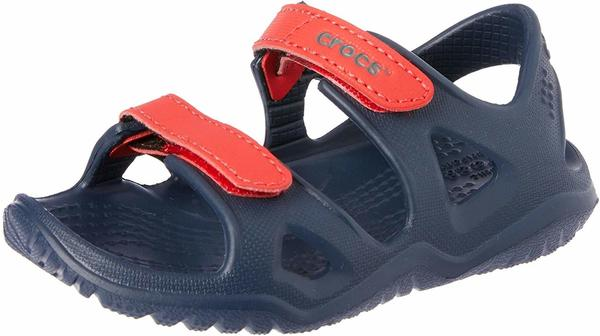 Crocs Swiftwater River navy/flame