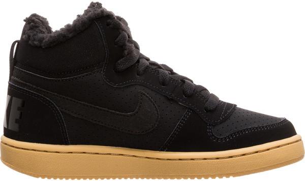 Nike Court Borough Mid Herren Winter Freizeitschuh schwarz