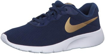 Nike Tanjun GS (818381-406) blue void/metallic gold/white