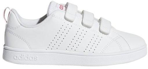Adidas Advantage Clean VS K ftwr white/ftwr white/super pink