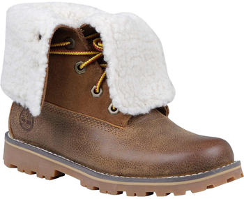 Timberland Authentics 6 Inch Faux Shearling Boot For Junior brown