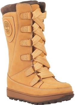 Timberland 8 Inch Mukluk Boot For Junior yellow