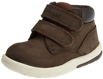Timberland Kids Toddle Tracks Hook and Loop red