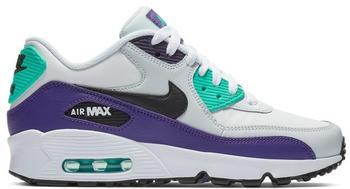 nike-air-max-90-leather-gs-white-black-hyper-jade-court-purple