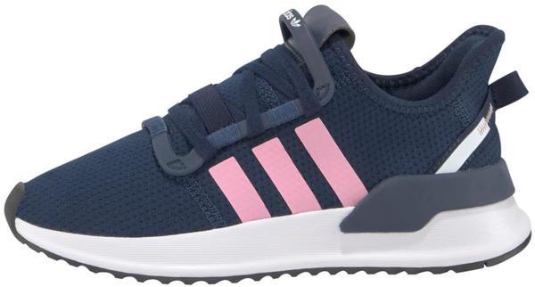 Adidas U_Path Run Kids collegiate navy/light pink/cloud white