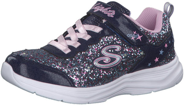 Skechers S Lights: Glimmer Kicks - Glitter N' Glow navy/lavender