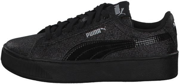 Puma Vikky Platform Youth Girls black/black