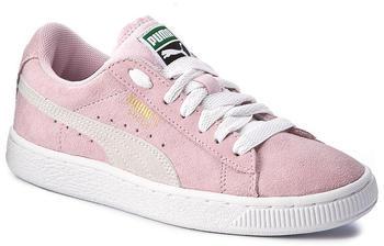 Puma Suede Jr (355110) pink lady/white/team gold