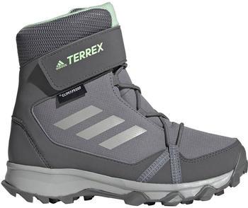 Adidas Terrex Snow CP CW K grey three/grey two/glow green