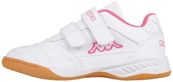 Kappa Kickoff Teens white/pink