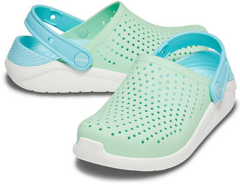 crocs-kids-literide-clog-205964-neo-mint-white
