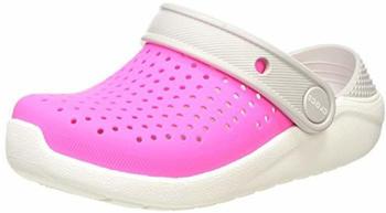 crocs-kids-literide-clog-205964-electric-pink-white