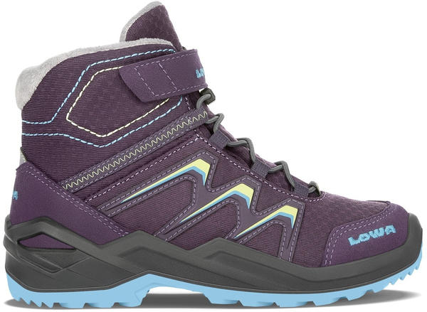 Lowa Maddox Warm GTX Kids plum/mint