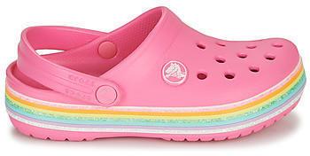 crocs-crocband-rainbow-glitter-clog-206151-pink-lemonade