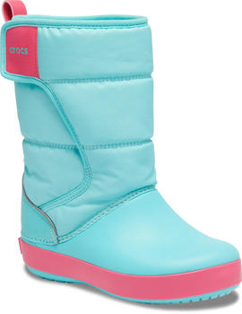 Crocs LodgePoint Snow Boot K (204660) ice blue/pool