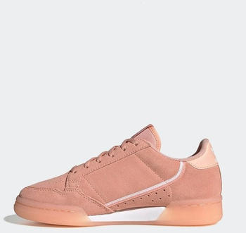 Adidas Continental 80 Kids Pink/Clear Orange