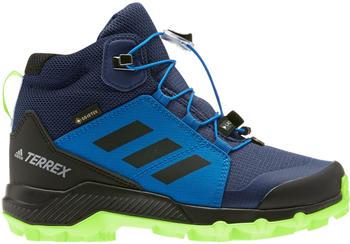 Adidas Terrex Mid GTX K tech indigo/core black/signal green