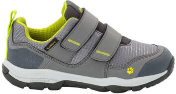 Jack Wolfskin Mountain Attack 3 Texapore Low VC Kids (4037731) grey/lime