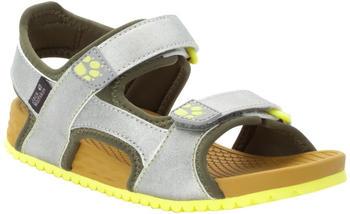 Jack Wolfskin Outfresh Deluxe Sandal Kids (4038781) silver/khaki