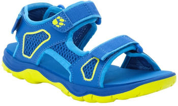 Jack Wolfskin Taraco Beach Sandal Kids (4039531) blue/lime