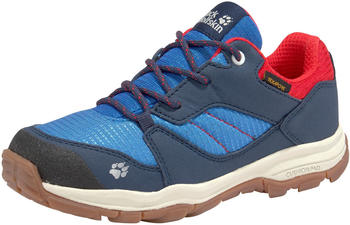 Jack Wolfskin Mountain Attack 3 Extended Version Texapore Low Kids (4036891) blue/red