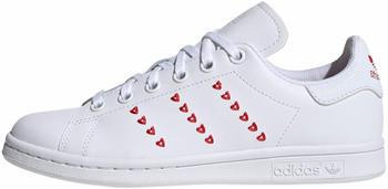 Adidas Stan Smith K cloud white/cloud white/lush red