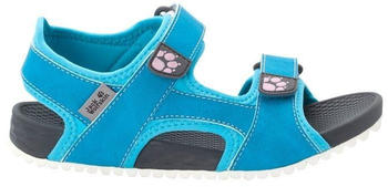 Jack Wolfskin Outfresh Deluxe Sandal Kids (4038781) blue/grey