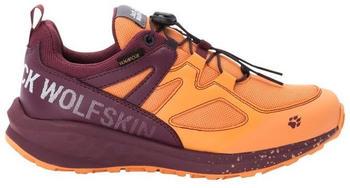 Jack Wolfskin Unleash 2 Speed Texapore Low Kids (4038641) apricot / burgundy