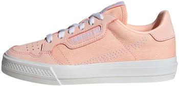 Adidas Continental Vulc Kids clear orange/cloud white/clear orange (EG6623)