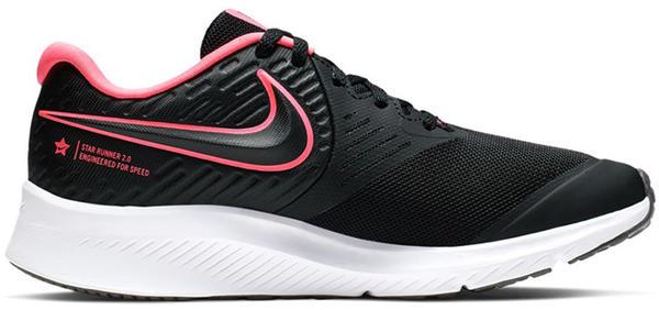 Nike Star Runner 2 GS black/black/white/sunset pulse