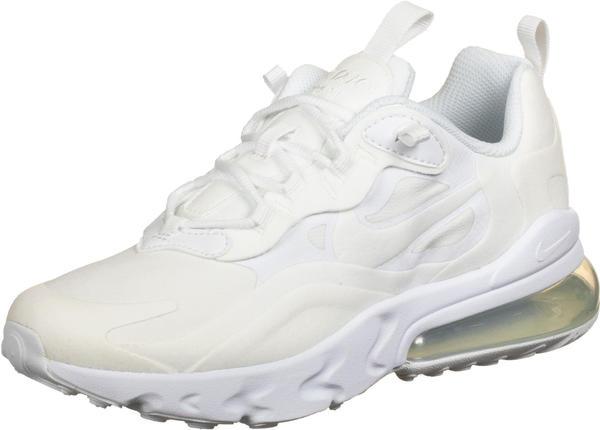 Nike Air Max 270 React Kids white/metallic silver/white/white