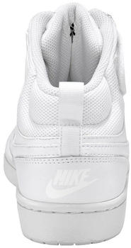 Nike Court Borough Mid 2 GS (CD7782) white/white/white
