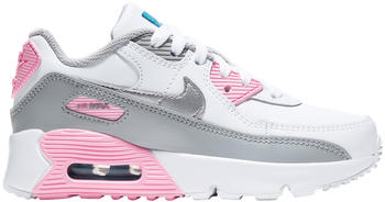 Nike Air Max 90 Kids light solar flaire/heather/white/pink/metallic silver