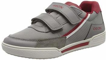 Geox J Poseido Grey Red