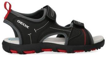 Geox Pianeta A J0264A black/red